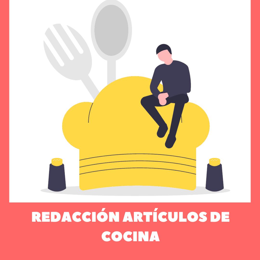 redacción artículos cocina